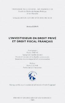 L'investisseur en droit privé et droit fiscal français