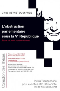L'obstruction parlementaire sous la Ve République