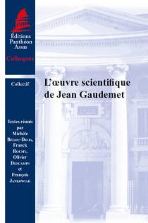 L'oeuvre scientifique de Jean Gaudemet