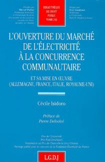 L'ouverture du marché  de l'électricité à la concurrence communautaire
