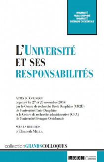 L'Université et ses responsabilités
