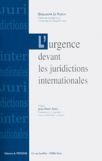 L'urgence devant les juridictions internationales