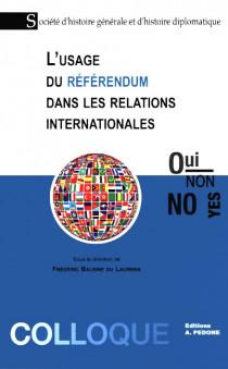 L'usage du référendum dans les relations internationales