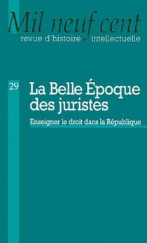 La Belle Epoque des juristes N°29