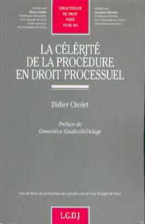 La célérité de la procédure en droit processuel