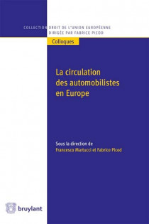 La circulation des automobilistes en Europe