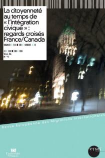 La citoyenneté au temps de l'« intégration civique » : regards croisés France/Canada