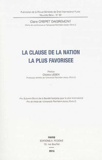 La clause de la nation la plus favorisée