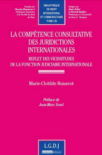 La compétence consultative des juridictions internationales