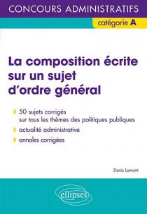 La composition écrite sur un sujet d'ordre général