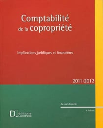 La comptabilité de la copropriété 2011-2012