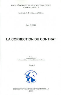 La correction du contrat, 2 volumes
