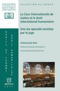 La Cour Internationale de justice et le droit international humanitaire