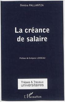 La créance de salaire