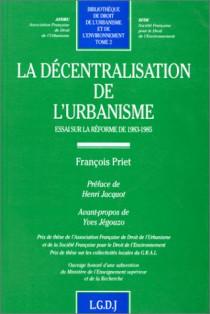 La décentralisation de l'urbanisme