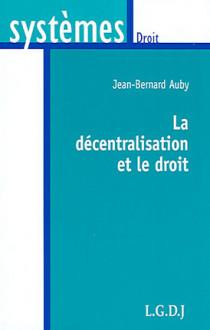 La décentralisation et le droit