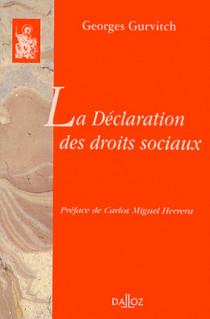La Déclaration des droits sociaux