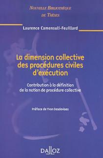 La dimension collective des procédures civiles d'exécution