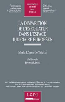 La disparition de l'exequatur dans l'espace judiciaire européen