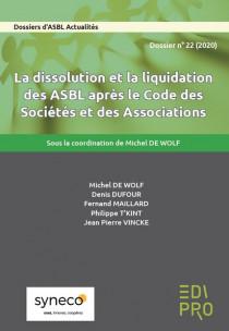 La dissolution et la liquidation des ASBL après le CSA
