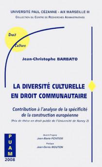 La diversité culturelle en droit communautaire