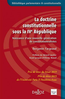 La doctrine constitutionnelle sous la IVe République