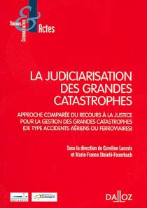 La judiciarisation des grandes catastrophes