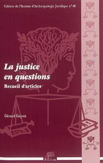 La justice en questions