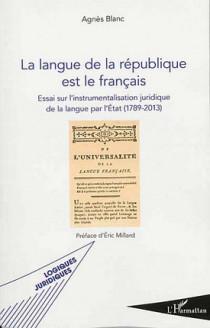 La langue de la république est le français