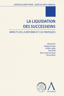 La liquidation des successions