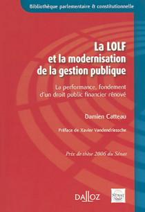 La LOLF et la modernisation de la gestion publique