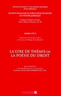 La lyre de Thémis ou la poésie du droit