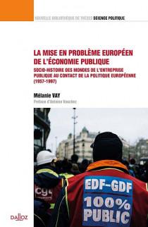 La mise en problème européen de l'économie publique