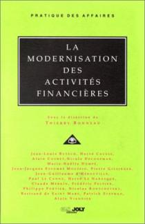 La modernisation des activités financières (sous la direction de T. Bonneau)