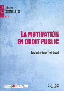 La motivation en droit public