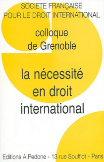 La nécessité en droit international