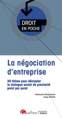La négociation d'entreprise [EBOOK]