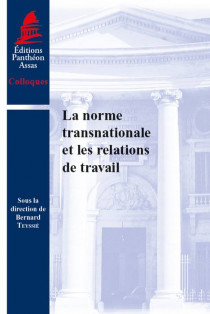 La norme transnationale et les relations de travail