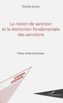 La notion de sanction et la distinction fondamentale des sanctions