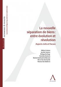 La nouvelle séparation de biens : entre évolution et révolution