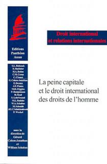 La peine capitale et le droit international des droits de l'Homme