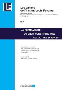La perméabilité du droit constitutionnel aux autres sciences