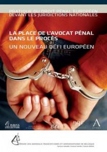 La place de l'avocat pénal dans le procès - Un nouveau défi européen