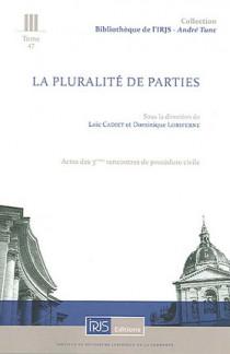 La pluralité des parties