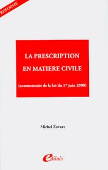La prescription en matière civile