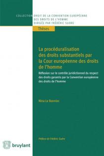 La procéduralisation des droits substantiels par la Cour européenne des droits de l'homme