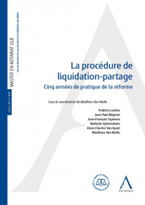 La procédure de liquidation-partage