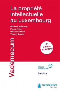 La propriété intellectuelle au Luxembourg 2018-2019