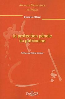 La protection pénale du patrimoine