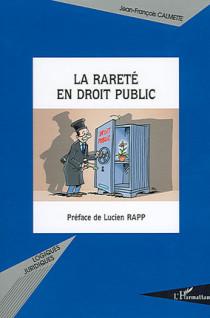 La rareté en droit public